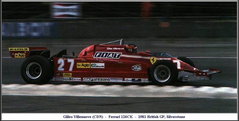 Gilles Silverstone 1981